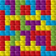 Tetris board background - Image vectorielle
