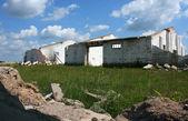 Ruïnes van de oude boerderijen — Stockfoto