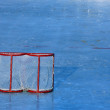 Hockey goal — Stock Photo