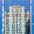 Reflection of Chicago Tribune Tower - Lizenzfreies Foto