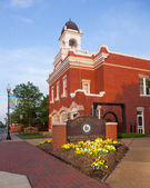 Manassas City Hall in Virginia — Stock Photo