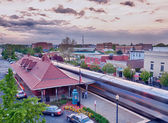 Manassas railway station in Virginia usa — Stock Photo