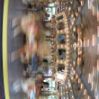 Fast moving carousel at Glen Echo park — Stock Photo #11135429
