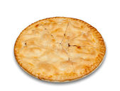Freshly baked homemade apple pie — Stock Photo