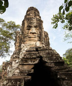 South gate of Angkor Thom Cambodia — Stock Photo