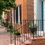 ������, ������: Street scene in Frederick Maryland