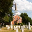 Stock Photo: St Ignatius church Chapel Point Maryland