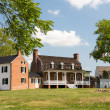 Thomas Stone house Port Tobacco Maryland — Stock Photo