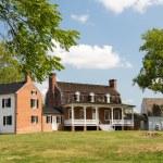 Thomas Stone house Port Tobacco Maryland — Stock Photo