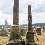 ������, ������: Graves at St Ignatius church Maryland