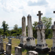 Stockfoto: Graves at St Ignatius church Maryland