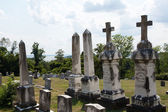 Graves at St Ignatius church Maryland — Stock Photo