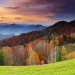 Morning in mountains - Stockfoto