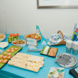 Stock Photo: Baby shower decorations
