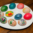 easter eggs — Stock Photo #10976956