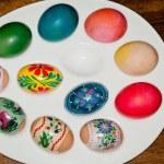 Easter eggs — Stock Photo #10977081