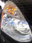 Lampada frontale — Foto Stock