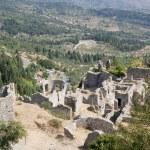 Mystras greece destination — Stock Photo