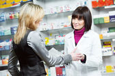 Medical pharmacy drug purchase — Foto de Stock