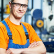 Stock Photo: Portrait of experienced industrial worker