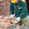 Construction mason worker bricklayer — Stock Photo #11181543