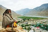 Indian monk sadhu — Stock Photo