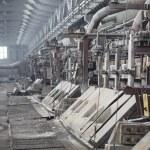 Electrolytic bath for aluminum smelter — Stock Photo