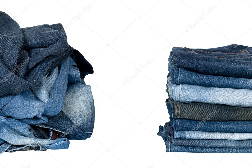 Jeans isolated on white background — Stock Photo #11780078