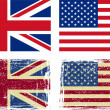 British and American flags — Stock Vector #12072247