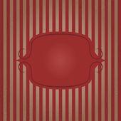Vintage frame striped background. Vector illustration — Stock Vector
