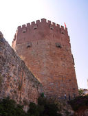 Red tower of fear — Stok fotoğraf