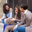 Group of Women Talking on Mobile Phone — Stock Photo #10863421