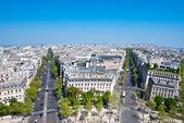 Paris Boulevards — Stock Photo