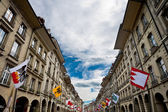 Flags in Berne — Stock Photo