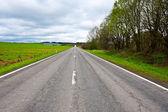 Road in Belgium — Stock Photo