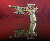 Steampunk Hand Cannon. — Stock Photo