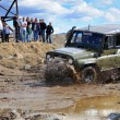 Stok fotoğraf: Off-road car in difficult terrain
