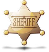 şerif yıldız — Stok Vektör