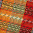 Multicoloured fabric with geometric pattern - Lizenzfreies Foto