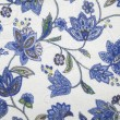 Fabric with flower pattern - Lizenzfreies Foto