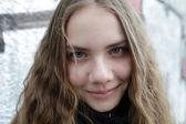 Smiling teen — Stock Photo