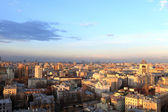 Sunset in Moscow — Stockfoto