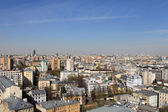 Moscow skyline at day — Stock Photo