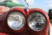 Twin headlamp — Stock Photo