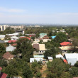 Stock Photo: Residential suburb of Almaty