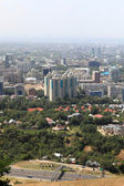 Aerial view of Almaty — Stock Photo