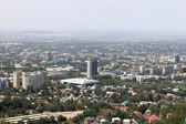 Almaty downtown skyline — Stock Photo