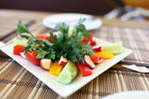Slices of various vegetables — Stock Photo