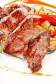 Lamb with vegetables — Fotografia Stock