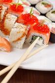寿司プレート — ストック写真